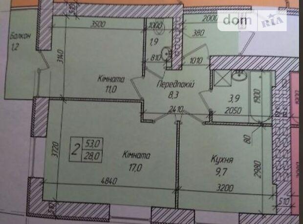 Продажа двухкомнатной квартиры в Тернополе, на ул. Лозовецкая район Солнечный фото 1