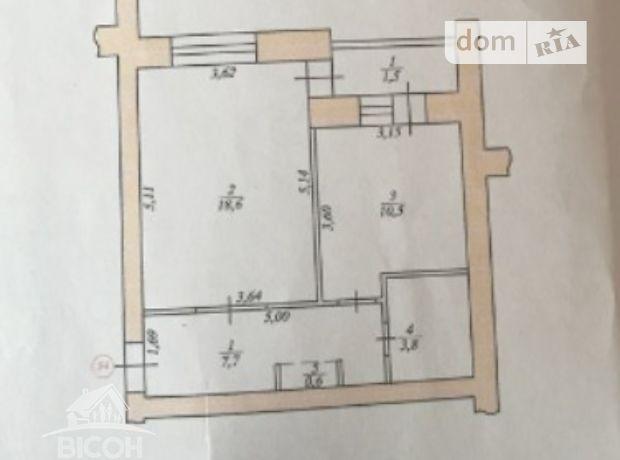 Продажа квартиры, 1 ком., Тернополь, р‑н.Солнечный, Лозовецкая улица
