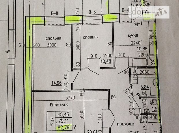 Продажа трехкомнатной квартиры в Тернополе, на Київська-Тарнавського район Солнечный фото 1