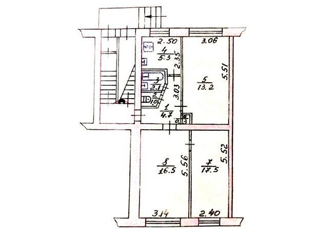 Продажа трехкомнатной квартиры в Тернополе, на бул. Галицкого Данила район Старый парк фото 1