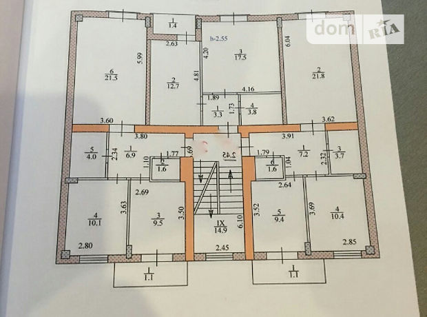 Продажа однокомнатной квартиры в Тернополе, на ул. Коперника район Центр фото 1