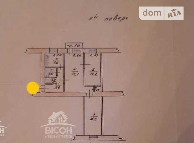 Продажа трехкомнатной квартиры в Тернополе, на ул. Замкова район Центр фото 1