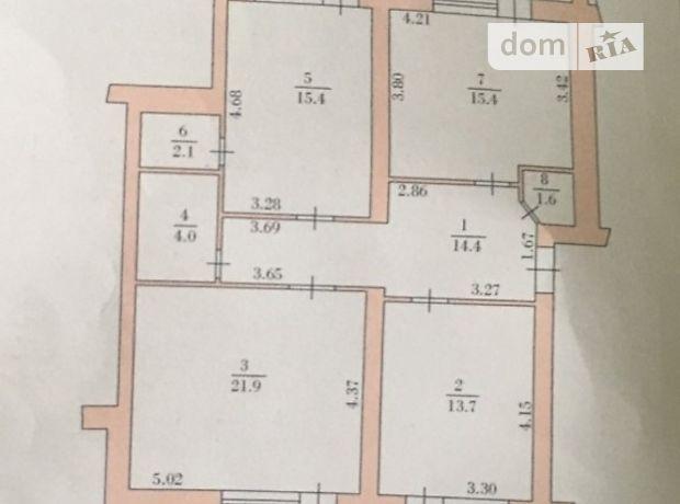 Продажа трехкомнатной квартиры в Тернополе, на Новобудова район Центр фото 2