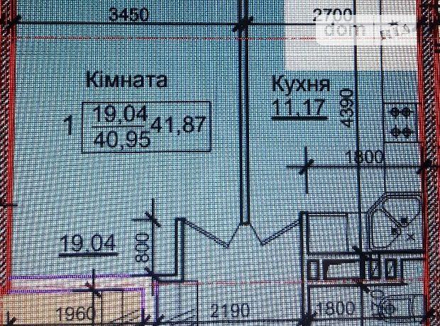 Продаж квартири, 1 кім., Тернопіль, р‑н.Центр, Білогірська