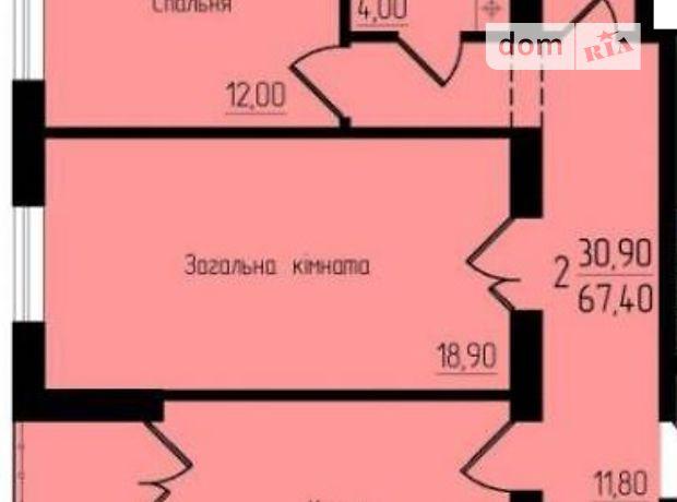 Продажа квартиры, 2 ком., Тернополь, c.Великая Березовица, ул Микулинецкая