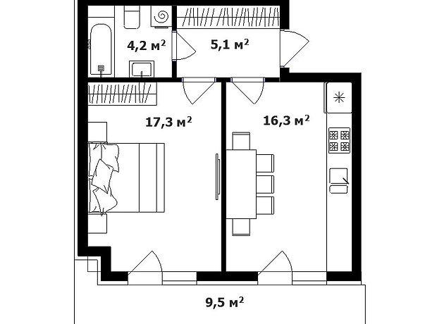 Продажа однокомнатной квартиры в Ужгороде, на ул. Тихая район Минай фото 1