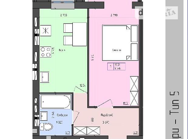 Продажа квартиры, 1 ком., Винница, р‑н.Агрономичное, Мічуріна