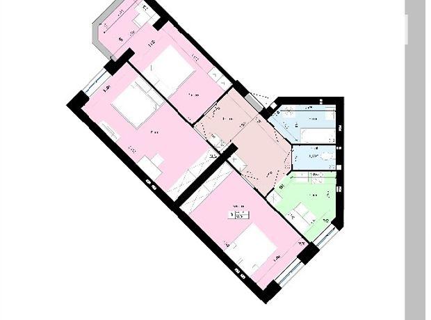 Продажа квартиры, 3 ком., Винница, р‑н.Агрономичное, Мічуріна