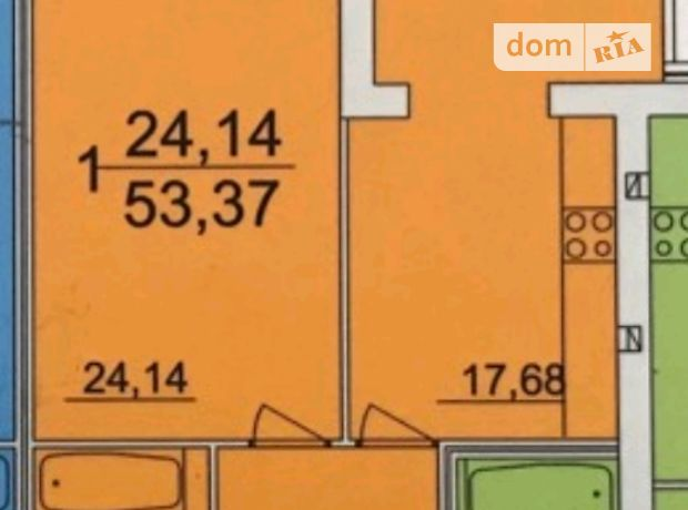 Продажа квартиры, 1 ком., Винница, р‑н.Старый город