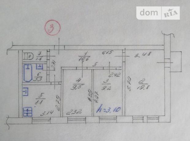 Продажа трехкомнатной квартиры в Виннице, на Батозька 10, район Замостье фото 1