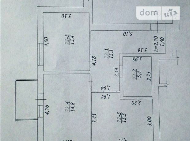 Продажа квартиры, 2 ком., Винница, р‑н.Замостье, ОАнтонова