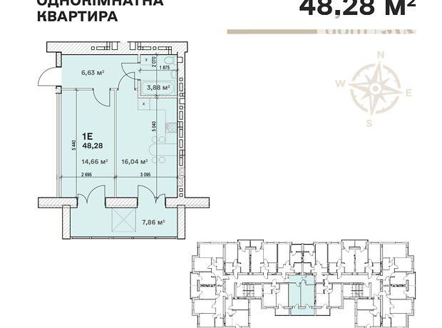 Продажа однокомнатной квартиры в Вышгороде, на Шевченка район Дымер фото 1