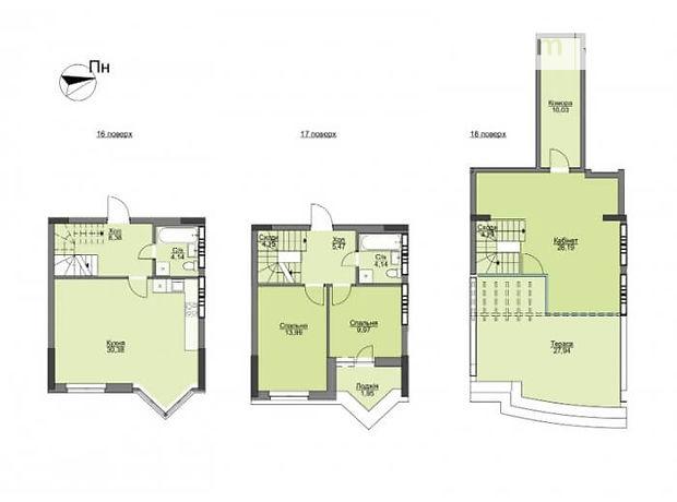 Продажа трехкомнатной квартиры в Вышгороде, на ул. Набережная район Вышгород фото 1
