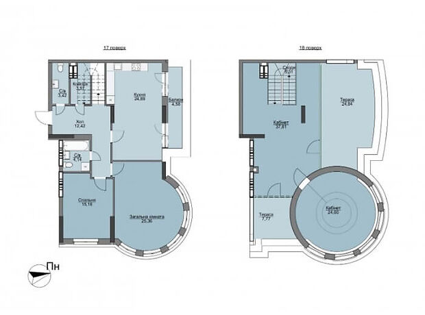 Продажа четырехкомнатной квартиры в Вышгороде, на ул. Набережная район Вышгород фото 1