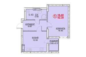 Продажа однокомнатной квартиры в Вышгороде, на ул. Ватутина район Вышгород фото 2