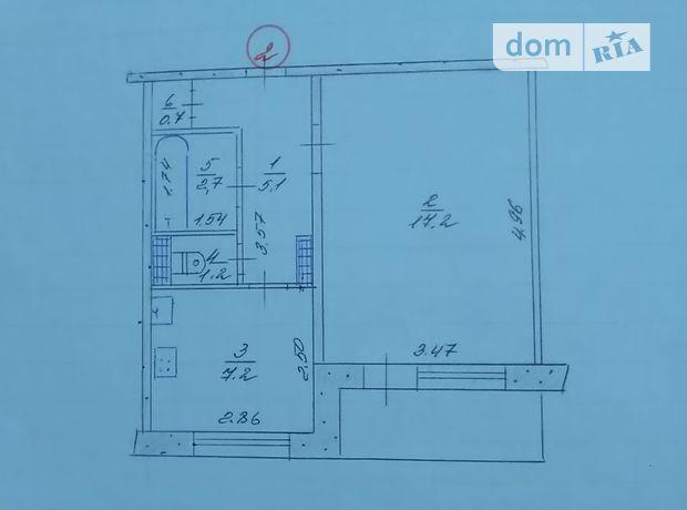 Продажа квартиры, 1 ком., Запорожье, р‑н.Бабурка, Строителей бульвар