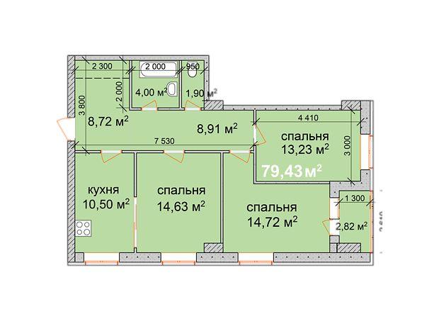 Продаж квартири, 3 кім., Запоріжжя, р‑н.Дніпровський (Ленінський), пр. Металлургов