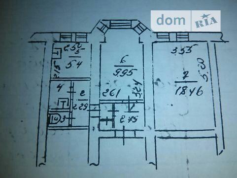 Продажа квартиры, 2 ком., Запорожье, р‑н.Днепровский (Ленинский), Вавилова улица