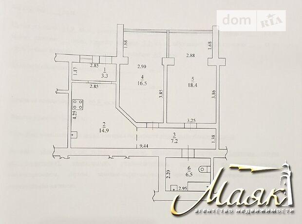 Продажа двухкомнатной квартиры в Запорожье, на ул. Совхозная район Коммунарский фото 1