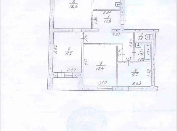Продажа четырехкомнатной квартиры в Запорожье, на ул. Антарктическая 15а, район Космос фото 1