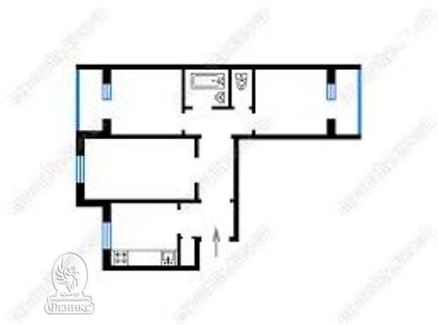 Продажа трехкомнатной квартиры в Запорожье, на ул. Хакасская район Осипенковский фото 1