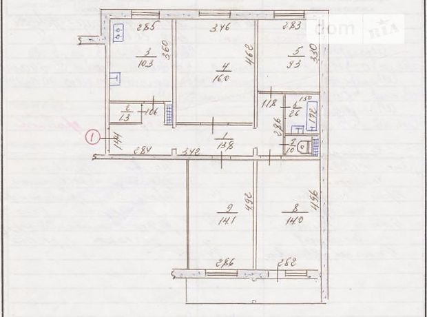 Продажа квартиры, 4 ком., Запорожье, р‑н.Осипенковский, Зестафонская улица