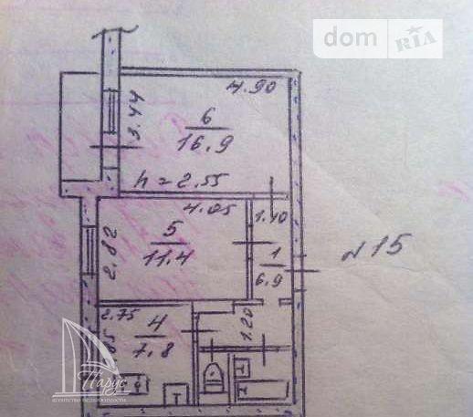 Продаж квартири, 2 кім., Запоріжжя, р‑н.Осипенківський, Звенигородська вулиця