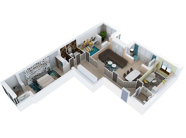 Продажа трехкомнатной квартиры в Запорожье, на ул. Тбилисская район Вознесеновский (Орджоникидзевский) фото 1