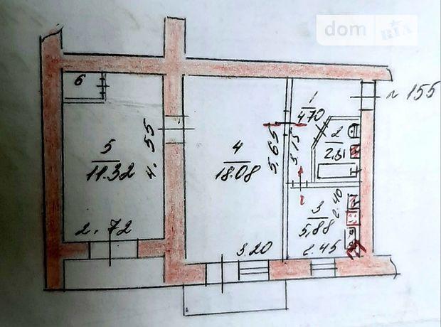 Продажа двухкомнатной квартиры в Запорожье, на ул. Яценко 1,, кв. 155, фото 1