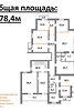 Офисное помещение на 378.4 кв.м. в нежилом помещении в жилом доме в Чернигове фото 2