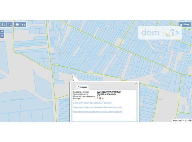 Продажа участка под жилую застройку, Киевская, Бородянка, c.Небрат