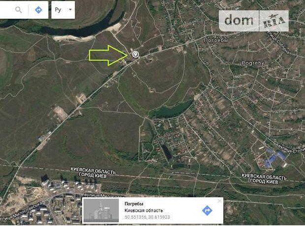 Продажа участка под жилую застройку, Киевская, Бровары, c.Погребы, Деснянська
