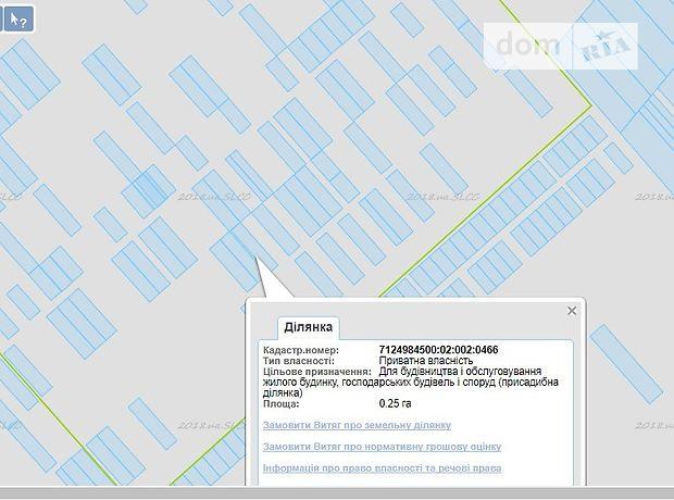 Продаж ділянки під житлову забудову, Черкаси, c.Леськи, Південна