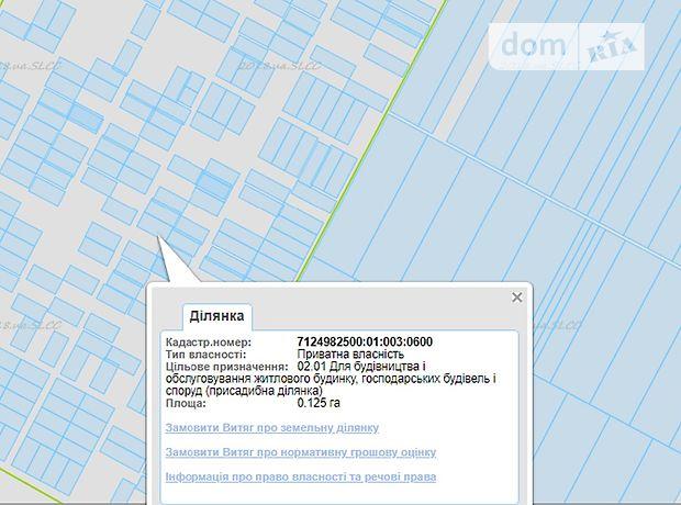 Продажа участка под жилую застройку, Черкассы, р‑н.Луначарский, польова