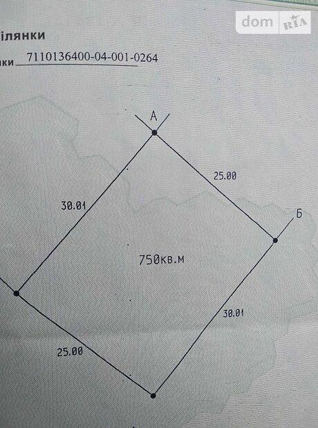 Земля под жилую застройку в Черкассах, район Район Д, площадь 8 соток фото 1