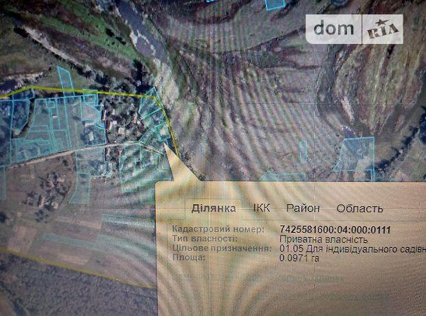 Продажа участка под жилую застройку, Чернигов, c.Днепровское, улЛуговая