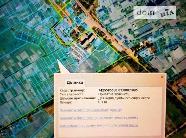 Земля под жилую застройку в Чернигове, район Масаны, площадь 10 соток фото 1