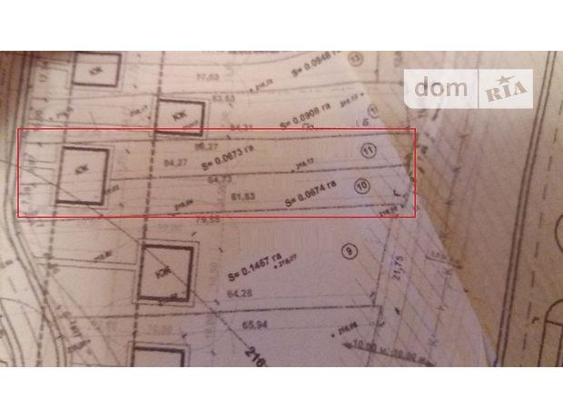 Земля под жилую застройку в Житомире, район Крошня, площадь 13 соток фото 1