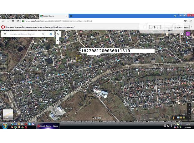 Земля под жилую застройку в Житомире, район Королевский, площадь 20 соток фото 1