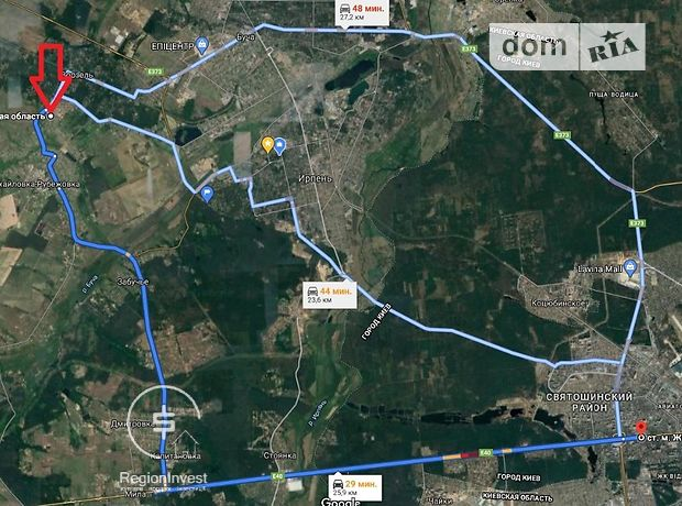 Земля под жилую застройку в селе Михайловка-Рубежовка, площадь 24 сотки фото 1