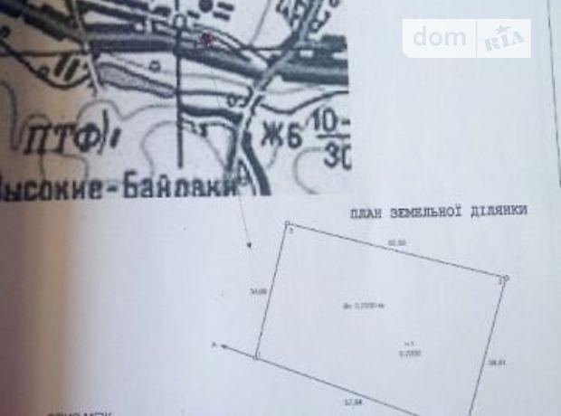Земля под жилую застройку в селе Высокие Байраки, площадь 20 соток фото 1