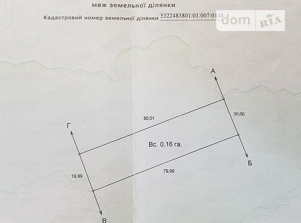 Земельна ділянка під житлову забудову в Кременчуку, площа 16 соток фото 1