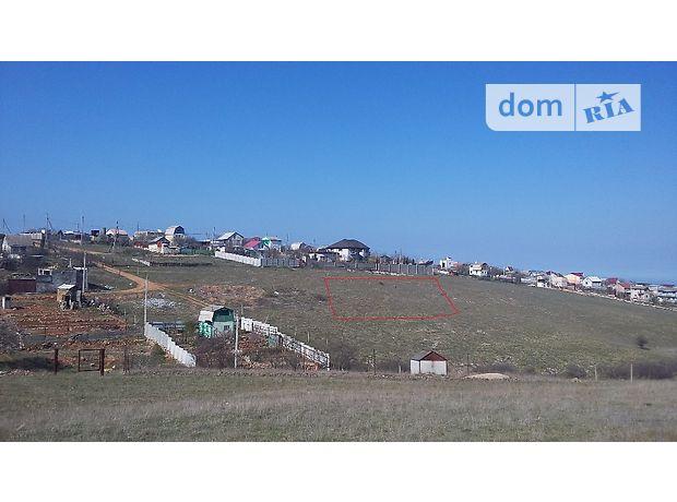 Продаж ділянки під житлову забудову, Крим, Севастополь, р‑н.Ленінський, 7 км Балаклавского шоссе