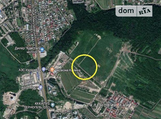 Земля под жилую застройку в Тернополе, район Авторынок, площадь 6 соток фото 1