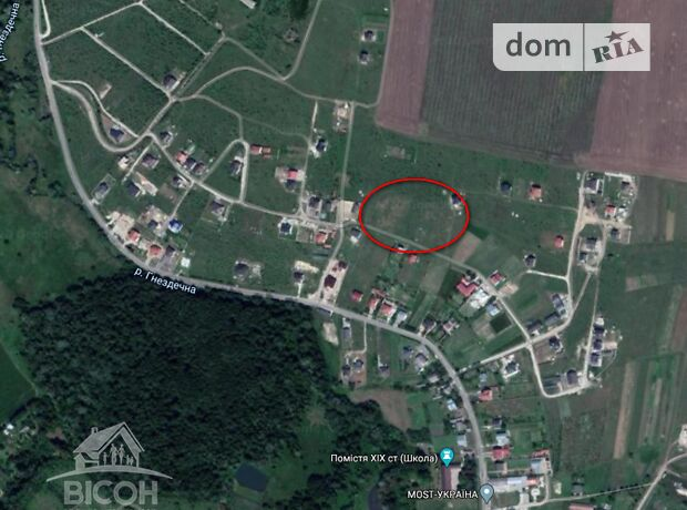 Земля под жилую застройку в селе Байковцы, площадь 15 соток фото 1
