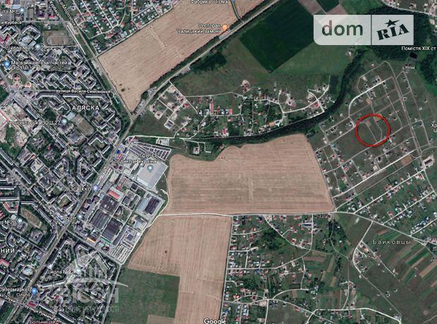 Земля под жилую застройку в селе Байковцы, площадь 12 соток фото 1