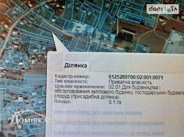 Земля под жилую застройку в селе Чистилов, площадь 10 соток фото 2