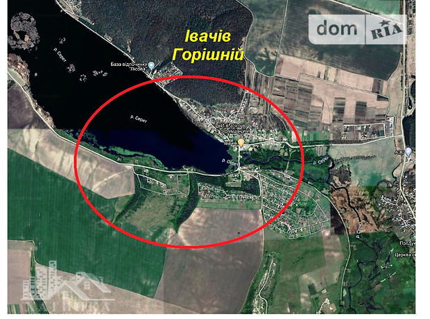 Земля под жилую застройку в селе Ивачев Горишний, площадь 20 соток фото 1