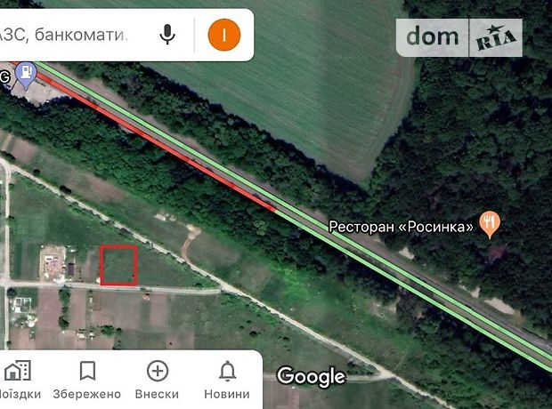 Земля под жилую застройку в селе Первые Львовские Дачи, площадь 6 соток фото 2