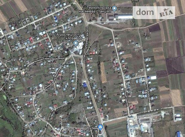 Продажа участка под жилую застройку, Тернополь, c.Плотыча